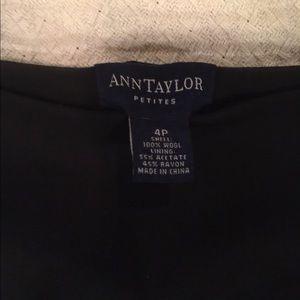 Ann Taylor Petite Long Black Skirt
